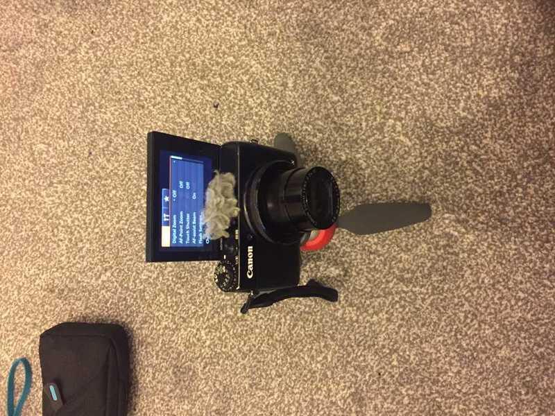 Canon G7X Camera - 2
