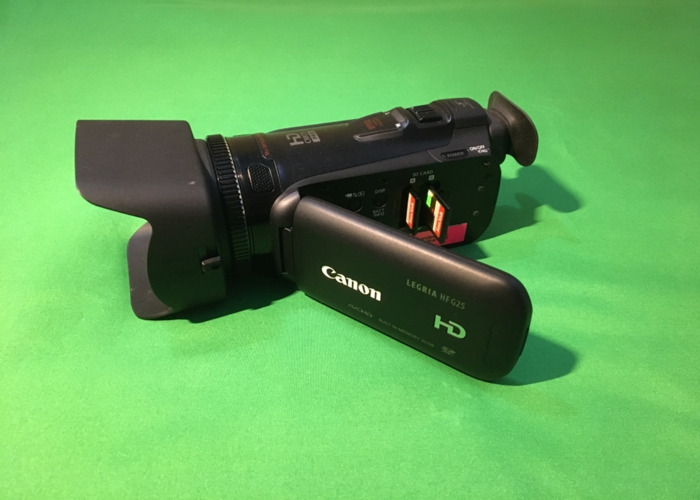 Canon Legria G25 PAL 1080p25 Full HD camcorder with SD cards - 1
