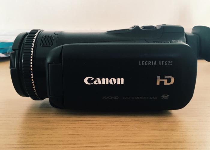 Canon Legria HF G25 - 1