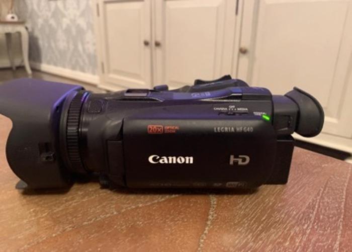 canon legria hf g26 camcorder - 1