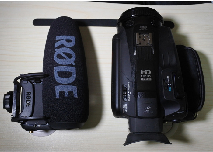 Canon Legria HF G40 & Rode Video Mic Pro+ package - 2