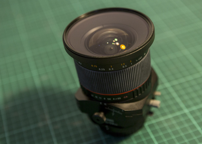 Canon Lens - Samyang 24mm f/3.5 ED AS UMC Tilt-Shift  - 2