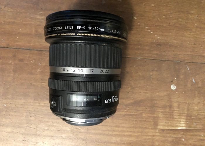 canon lens 10-22mm  - 1