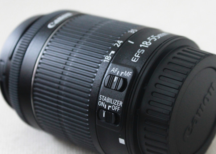 Canon lens 18-55mm F5.6 - 1