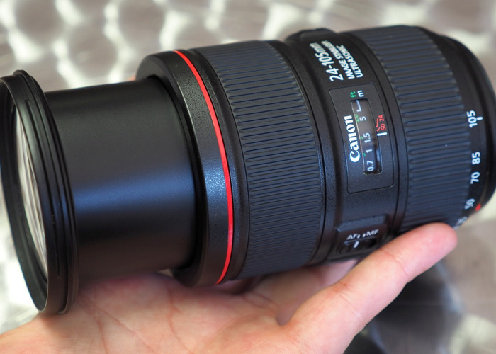 Canon lens 24-105 F4 - 1