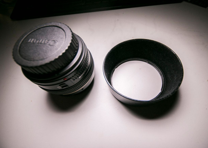 Canon Lens: 50mm Prime - 1