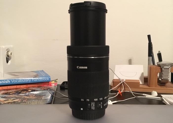 Canon Lens 55-250mm EFS - 1