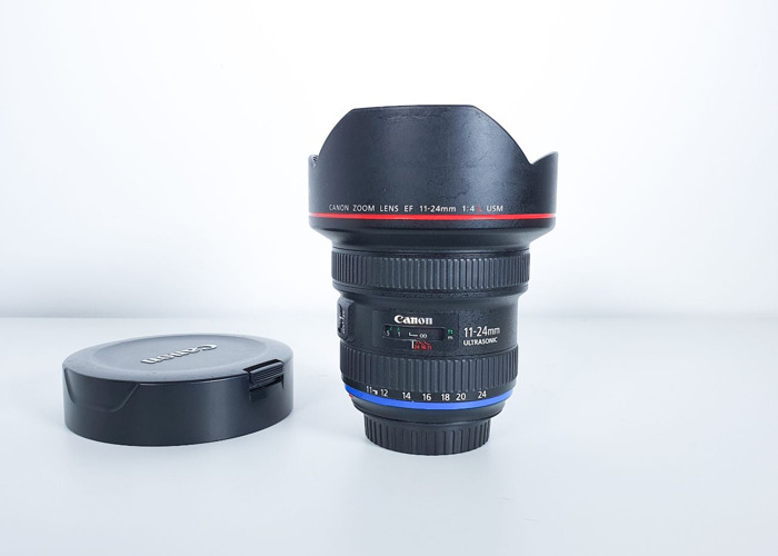 Canon 11 24 mm lens f/4L USM wide angle - 1