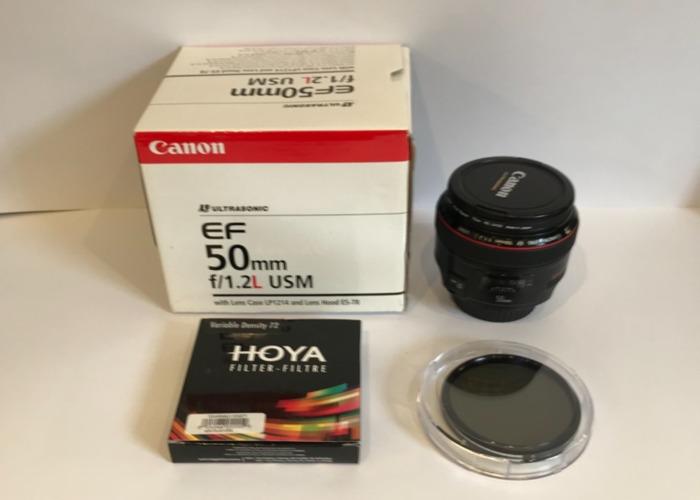 canon lens-ef-50mm-f12l-usm---hoya-variable-filter-30169339.jpeg