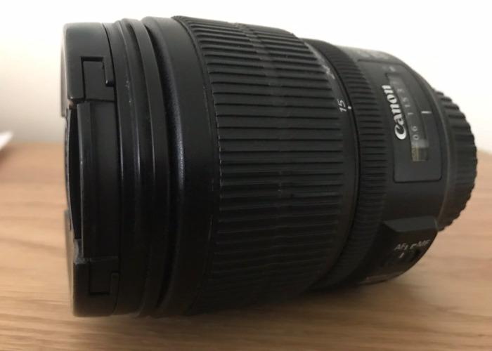 Canon lens EF-S 15-85mm f3.5-5.6 IS USM  - 2