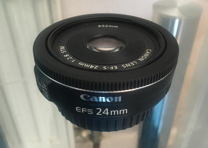 Canon Lens EFS 24mm - 2