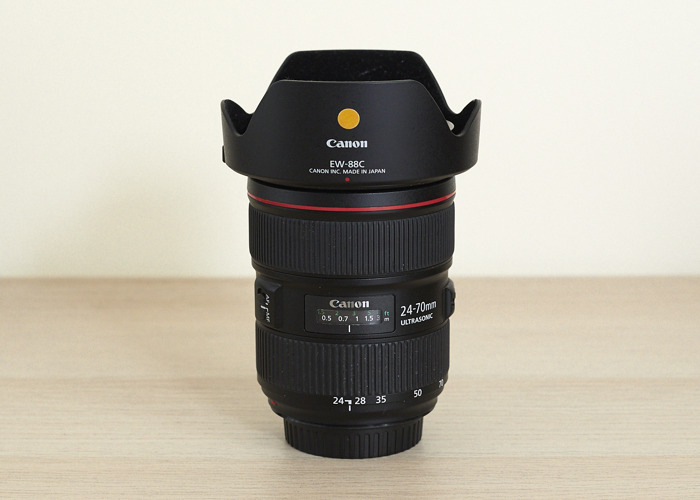 Canon Lens Kit (24-70mm f2.8, 70-200mm f2.8) - 2