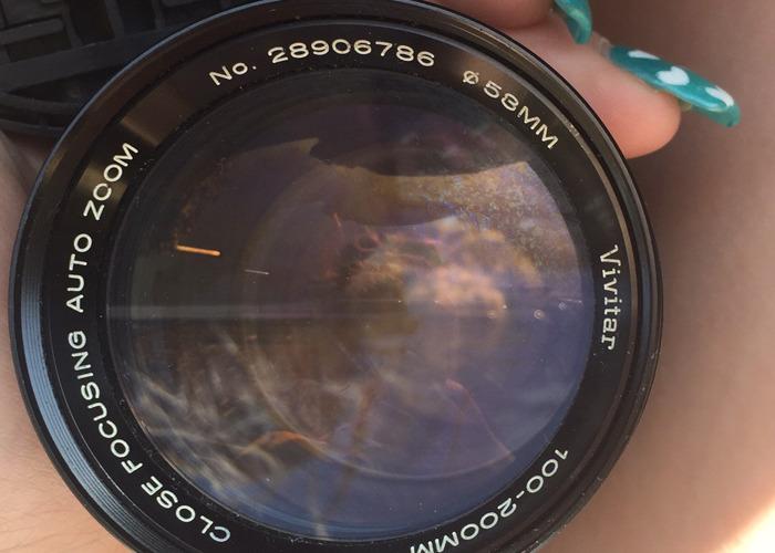 Canon lense and mc tele converter  - 2