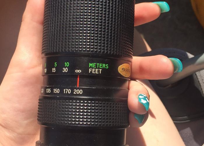 Canon lense and mc tele converter  - 1