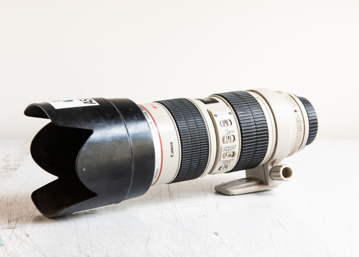 Various Canon lens's. 70-200, 24, 17-40, 24-105, 50, 15 - 1