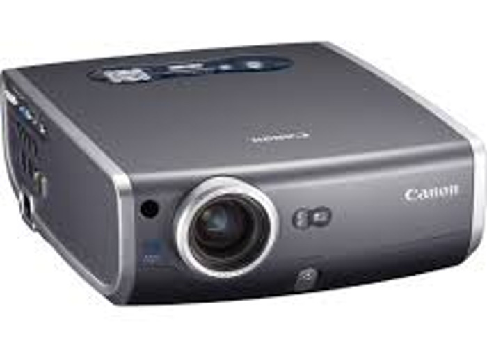 Canon Mark II Projector and Da-Lite Screen Package - 1