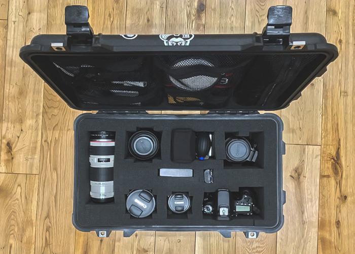 70D Canon Photo/Film/Audio Pelicase Kit (50mm, 24-105, 70-200mm) - 1
