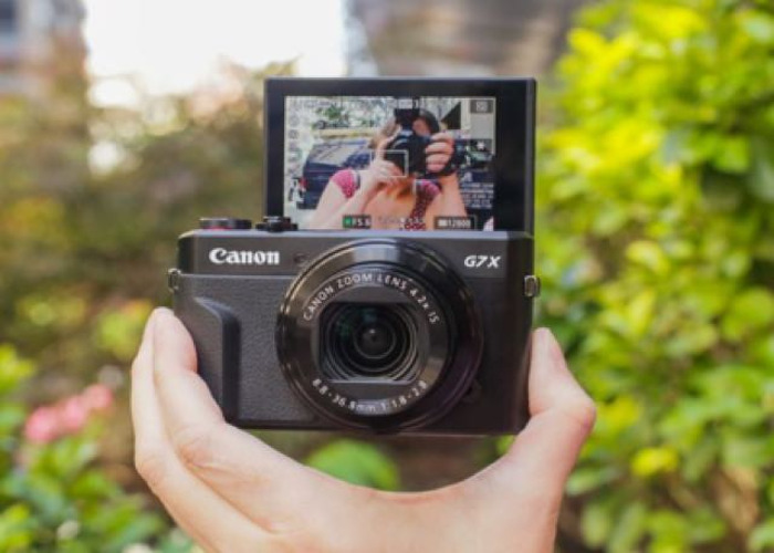 602589013bd3 Rent Canon PowerShot G7 X Mark II Digital Camera HD 1080p 60fps in ...