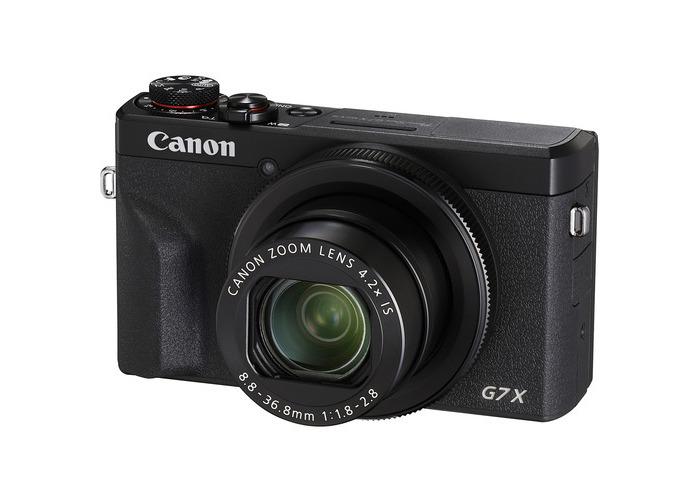 Canon PowerShot G7 X Mark III Digital Camera (Black) - 1