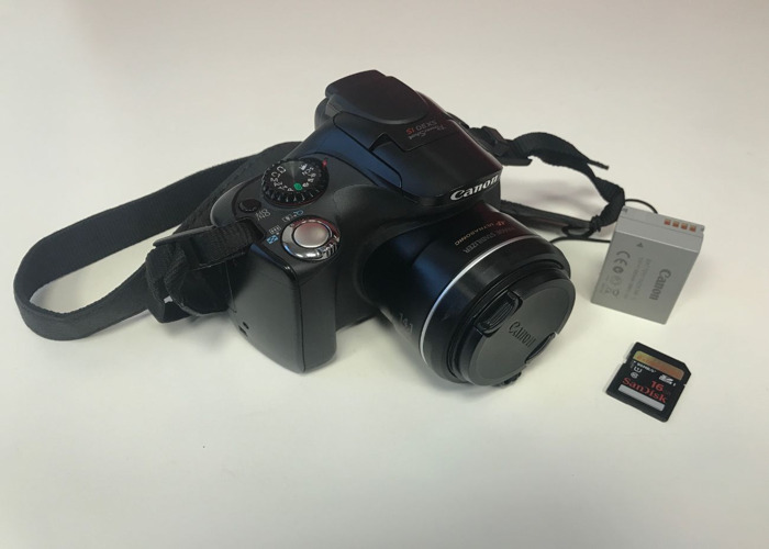 Canon PowerShot SX30 IS - 1