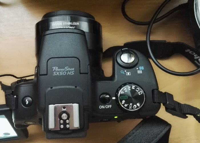 Canon PowerShot SX50 HS Digital Camera with 50x Ultra Wide A - 2