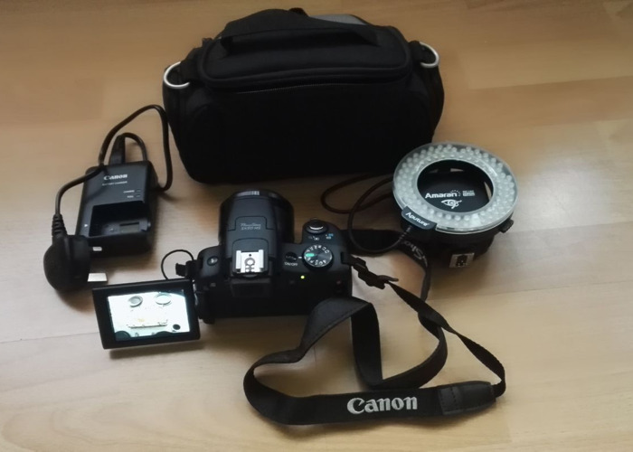Canon PowerShot SX50 HS Digital Camera with 50x Ultra Wide A - 1