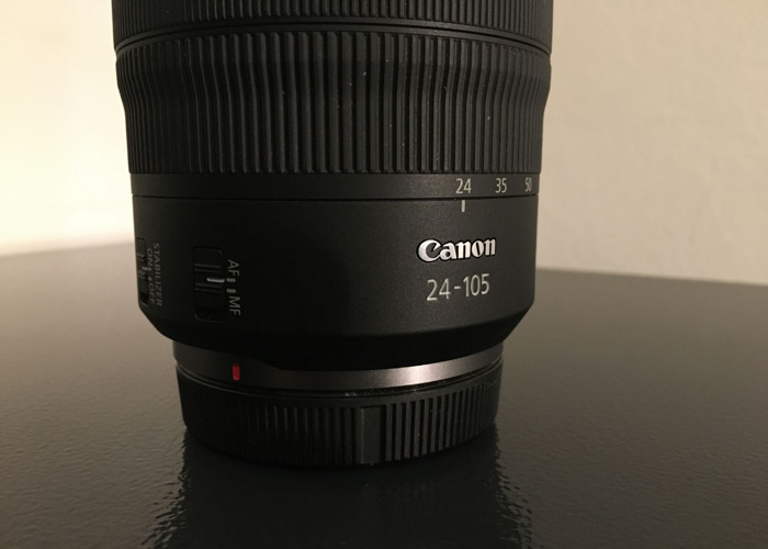 Canon RF with 24-105 Lens with variable ND filter - 2
