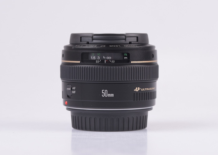 Canon Sigma 50mm 1.4 EF Mount Lens - 1