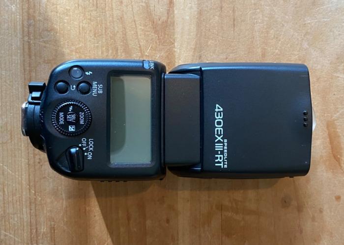 Canon Speedlite 430EX III RT Flashgun - 2