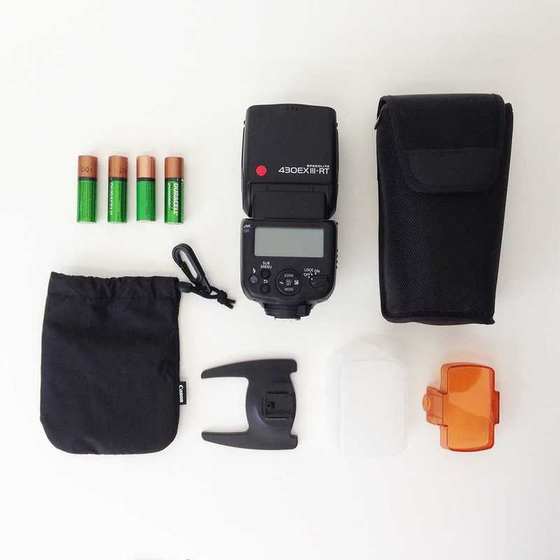 Canon Speedlite 430EX III-RT Flash - 1