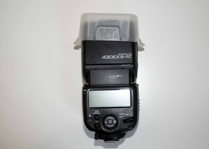 Canon Speedlite 430EX III-RT Flashgun - 1