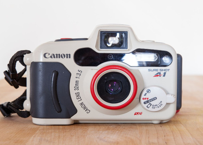 Canon Sure Shot A1 Underwater 35mm + carry case - 1