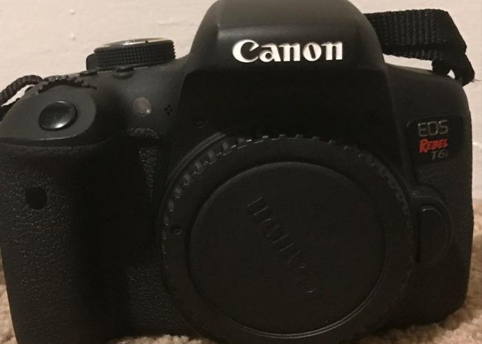 Canon T6i Camera/Kit - 2