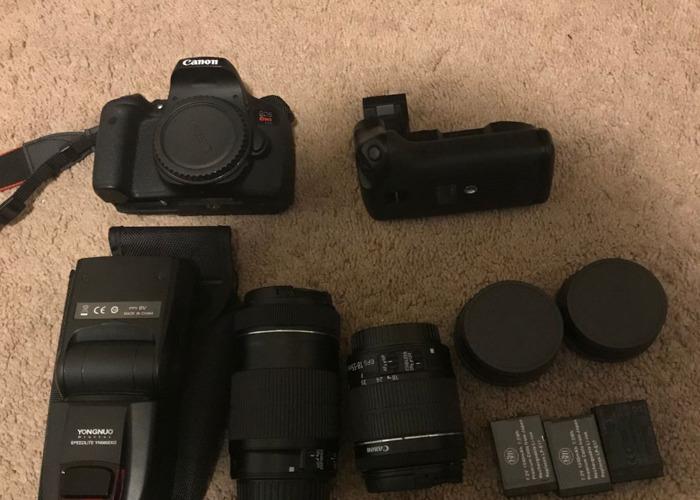 Canon T6i Camera/Kit - 1