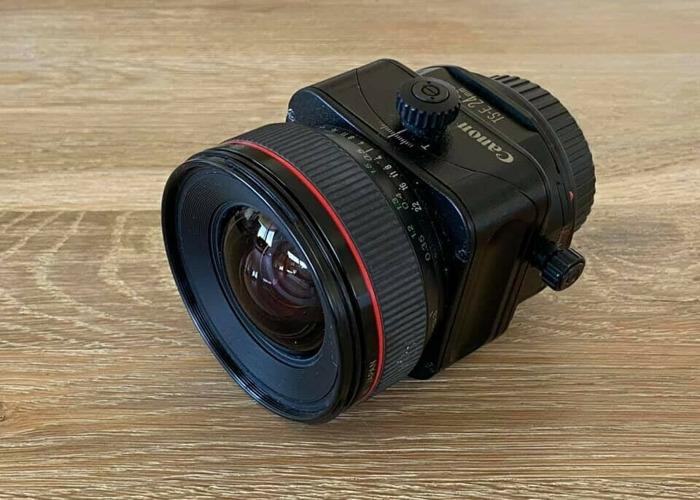 Canon TS-E 24mm f3.5 L Tilt and Shift lens - 1