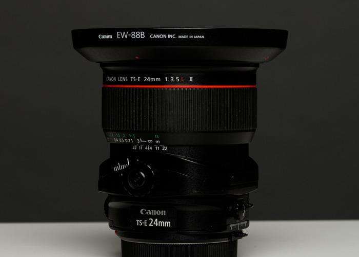 Canon TS-E 24mm f/3.5L II Tilt-Shift Lens - 1
