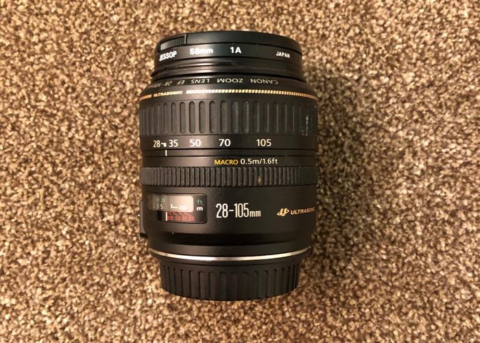 Canon Ultrasonic (28-105mm) Zoom Lens - 1