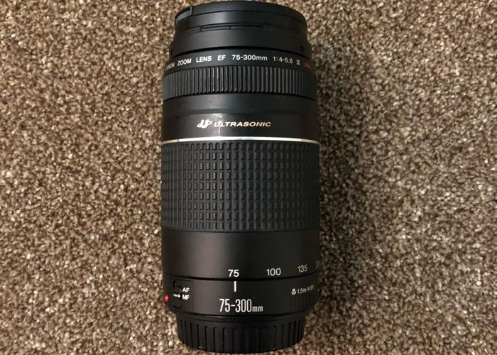 Canon Ultrasonic (70-300mm), Zoom Lens - 1