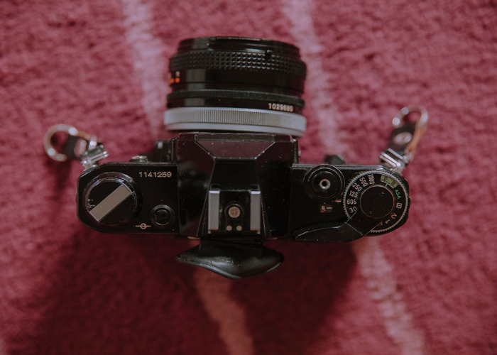Canon Vintage AE-1  35mm Camera with 50mm 1:1.8 L - 2