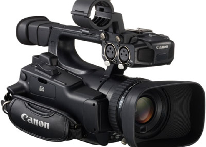 Canon XF100 High Definition Professional Camcorder - 1