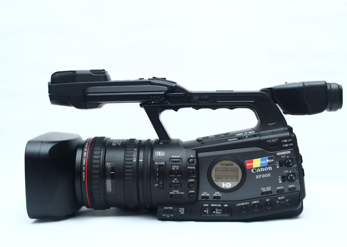 CANON XF305 CAMCORDER PROFESSIONAL BROADCAST- CAM 1 - 1