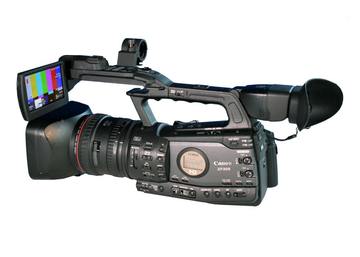 Canon XF-305 professional HD camcorder - 1