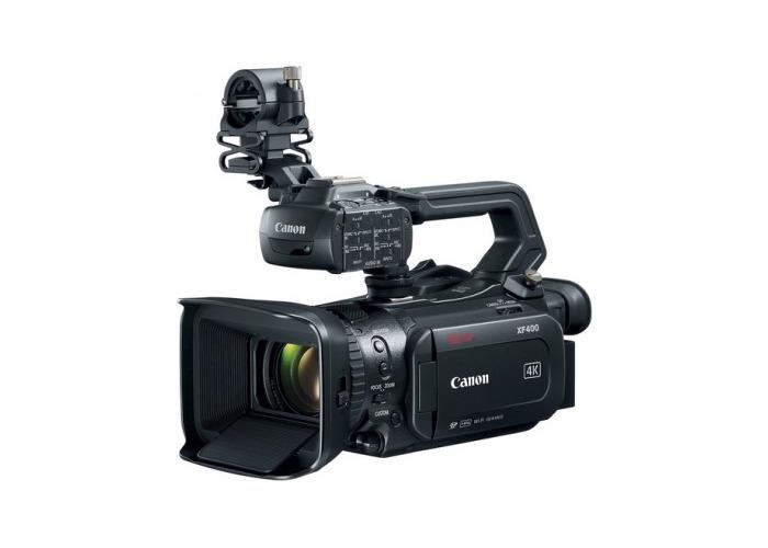 Canon XF400 4K UHD Camcorder - 1