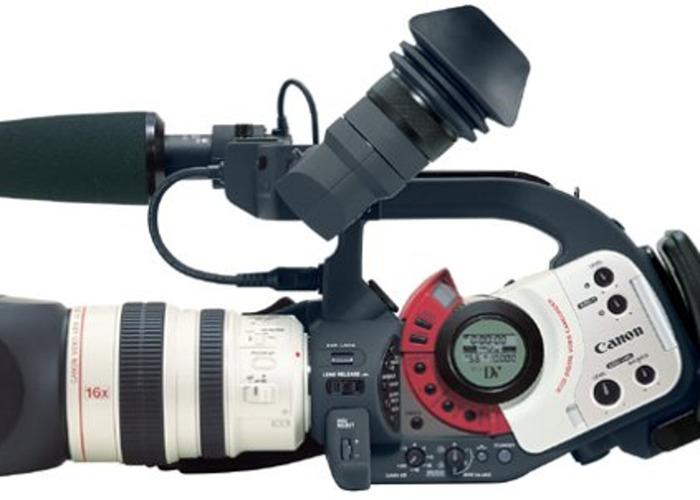 Canon XL1S mini DV camcorder - 1