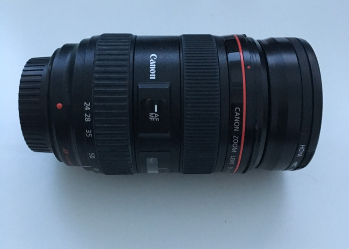 Canon Zoom Lens 24-70mm - 1
