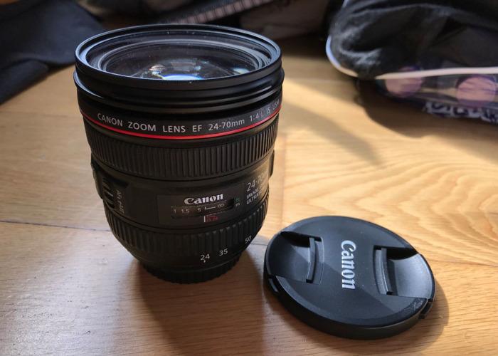 Canon Zoom Lens EF 24-70mm f/4L IS USM - 1