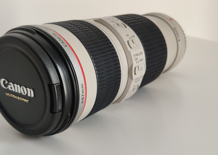 Canon ZOOM Lens EF 70-200 mm 1:4 L IS - 1