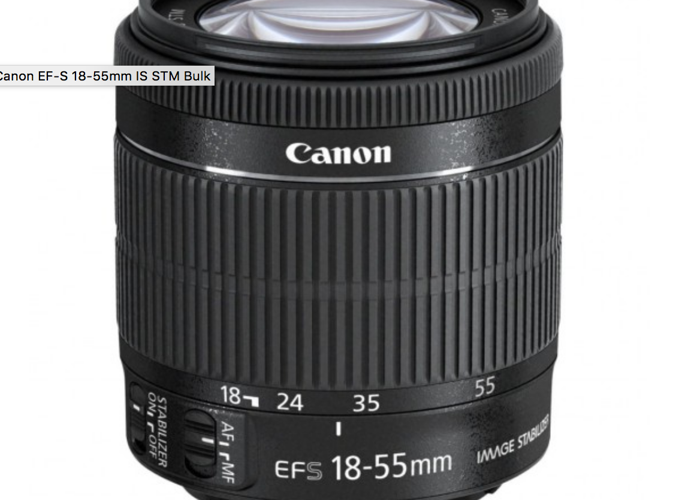 Canon Zoom Lens EF-S 18-55mm - 1