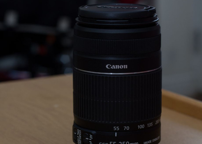 Canon Zoom Lens EF-S 55-250mm f/4-5.6 IS II - 1