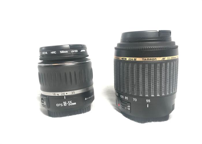 Canon Zoom Lens Set - 1